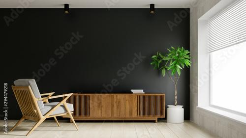 Fotografía Interior of modern living room 3D rendering