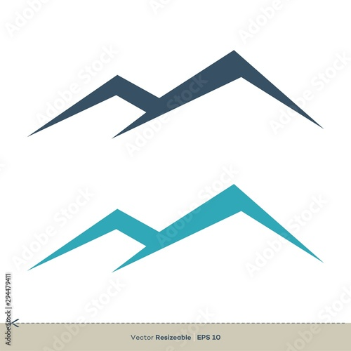 M Letter vector Logo Template Illustration Design. Vector EPS 10. Wallpaper Mural