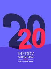 Happy New Year 2020 Text Desig...