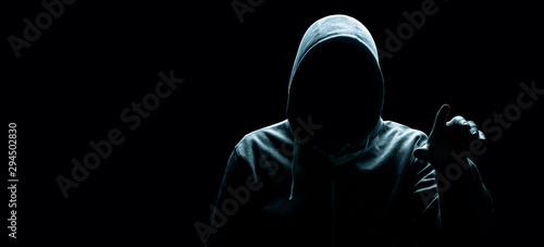 Pinturas sobre lienzo  Hacker - Cyber Kriminalität