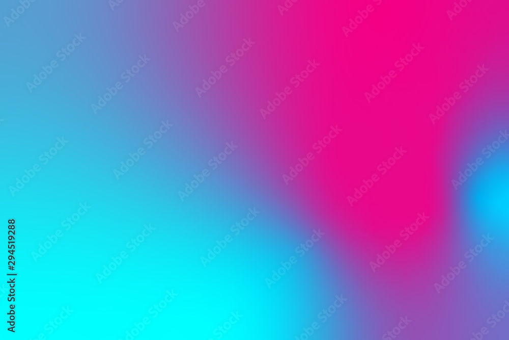 Fototapety, obrazy: abstract color gradient background, creative graphic wallpaper with purple, pink and blue