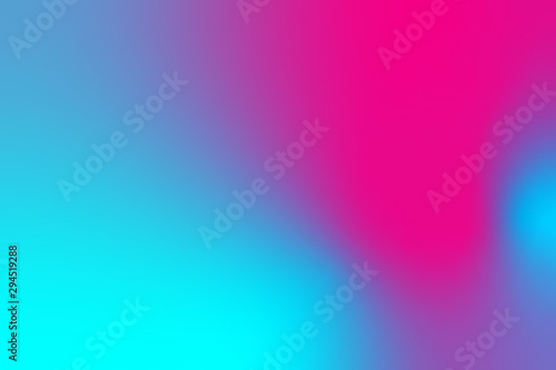 Obraz abstract color gradient background, creative graphic wallpaper with purple, pink and blue - fototapety do salonu
