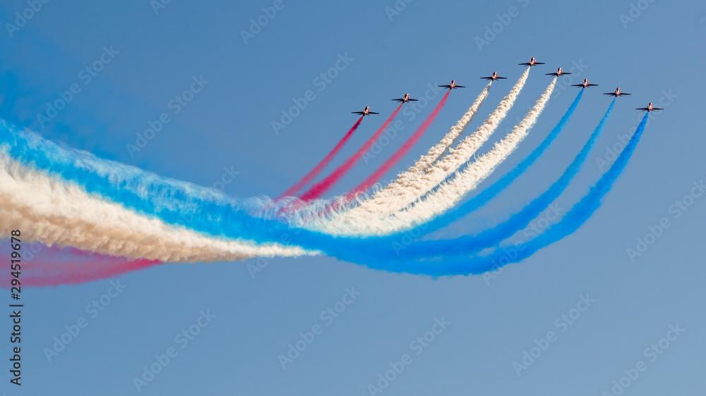 Fototapety, obrazy: The US Thunderbird's going vertical
