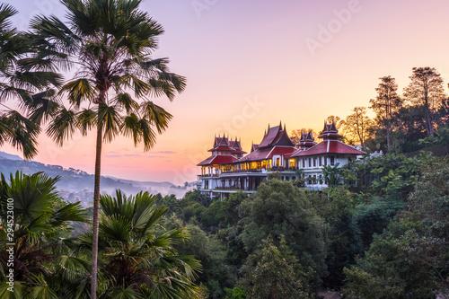 Staande foto Canarische Eilanden Sunrise in Thailand