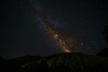 The milky way or stars in taken in the prairie in kansas and the mountains of colorado!