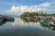 Peaceful Landscape In Kampot Province, Cambodia