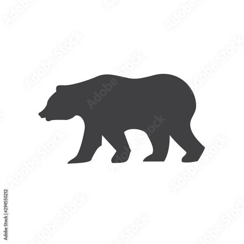California Bear Logo Fototapet