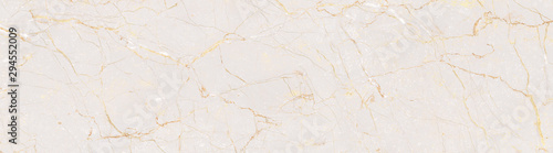Fototapeta Natural Marble Stone Texture Background, Light Pink Colored Marble With Golden Curly Veins, It Can Be Used For Interior-Exterior Home Decoration and Ceramic Tile Surface, Wallpaper. obraz