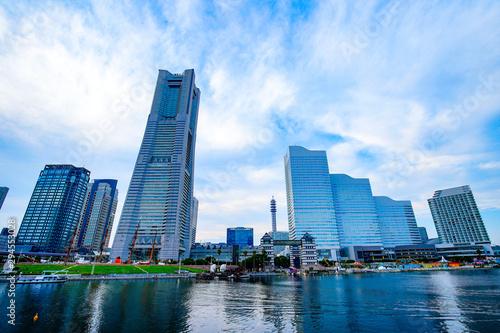 横浜の都市風景 神奈川県