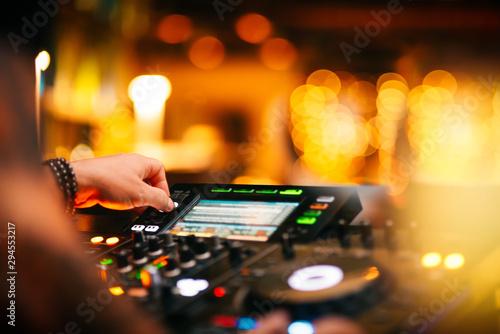 DJ Night Club Music Background - 294553217