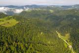 Fototapeta Na ścianę - Slovenija from above – Municipality of Horjul – near Ljubljana
