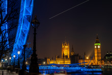 Big Ben, Westminster Bridge, L...