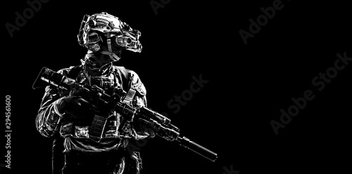 Army special forces Canvas Print