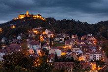 The Wartburg Castle With The City Of Eisenach In Germany
