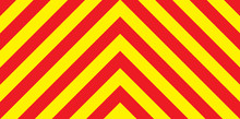 Red And Yellow Chevron Backgro...