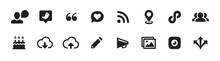 Social Media Icon Set (vector ...