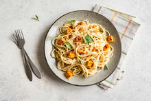 Pumpkin Spaghetti Pasta