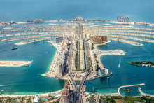 Aerial View Of Dubai Palm Jume...