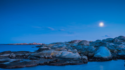 Verdens Ende, koniec świata, na wyspie Tjome, w regionie Vestfold w Norwegii