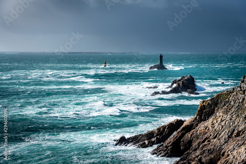Canvas Print The Pointe du Raz, Brittany