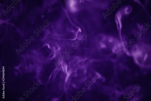 Garden Poster Smoke Purple smoke background for halloween