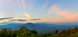 panoramic view and Beautiful countryside with clear sky,Phu Luang District, Thailand