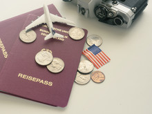 Travel Concept With Passport A...