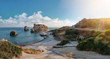 Panoramic Shot Of The Coast Of...