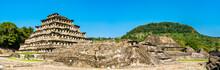 El Tajin, A Pre-Columbian Archeological Site In Southern Mexico