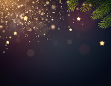 Christmas Background Design Wi...