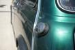 Details of old cars on a vintage car show in Bavaria