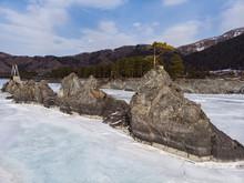 Fast Mountain River Katun In A...