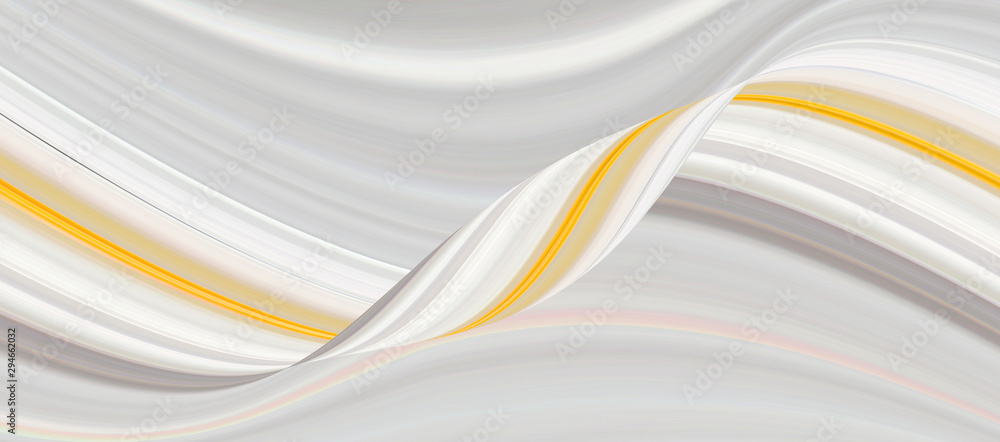 Marble yellow with 3d textured wave pattern and lines, beautiful wallpaper. Background in dark colors for different purposes.