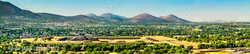Photo View of Teotihuacan in Mexico