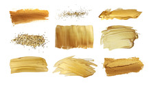 Gold (bronze) Glittering Color...