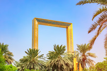 Dubai Frame Is An Architectural Landmark Located In Zabeel Park In The City Of Dubai In The UAE. The Largest Frame In The World