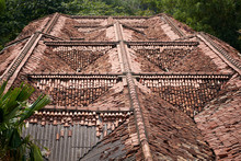 Design A Special Tile Roof To Form A Special Pattern