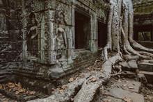 Ruined Buddhist Temple.