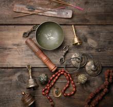 Copper Singing Bowl, Prayer Be...