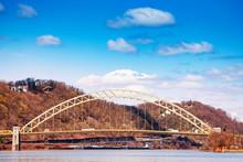 West End Bridge Over Ohio River In Pittsburg