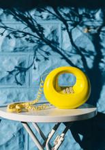 Vintage Classic Yellow Round Circle Telephone
