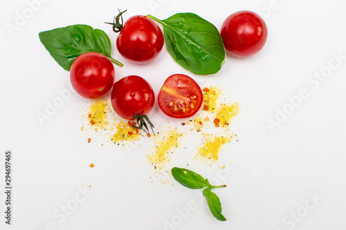 Garden Poster Food Autumn vegetables on white background. Vegetable background.