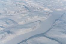 Snowy Landscape In Newfoundland And Labrador