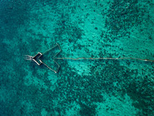 Traditional Fishing Structure On The Ocean