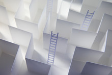 Paper Ladders And Maze