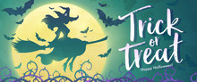Trick Or Treat Banner. Pretty ...