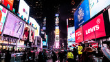 Fototapeta Nowy Jork - Times Square Night Lights