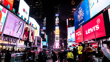 Times Square Night Lights