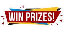 Win Prizes Banner Design