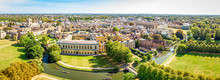 Aerial View Of Cambridge, United Kingdom
